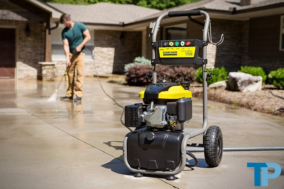 Karcher G2700 Gas Power Pressure Washer Test