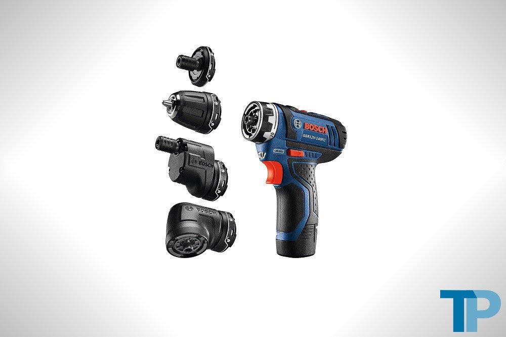 Bosch GSR12V-140FCB22 12V Max Flexiclick 5-In-1 Drill/Driver System Review