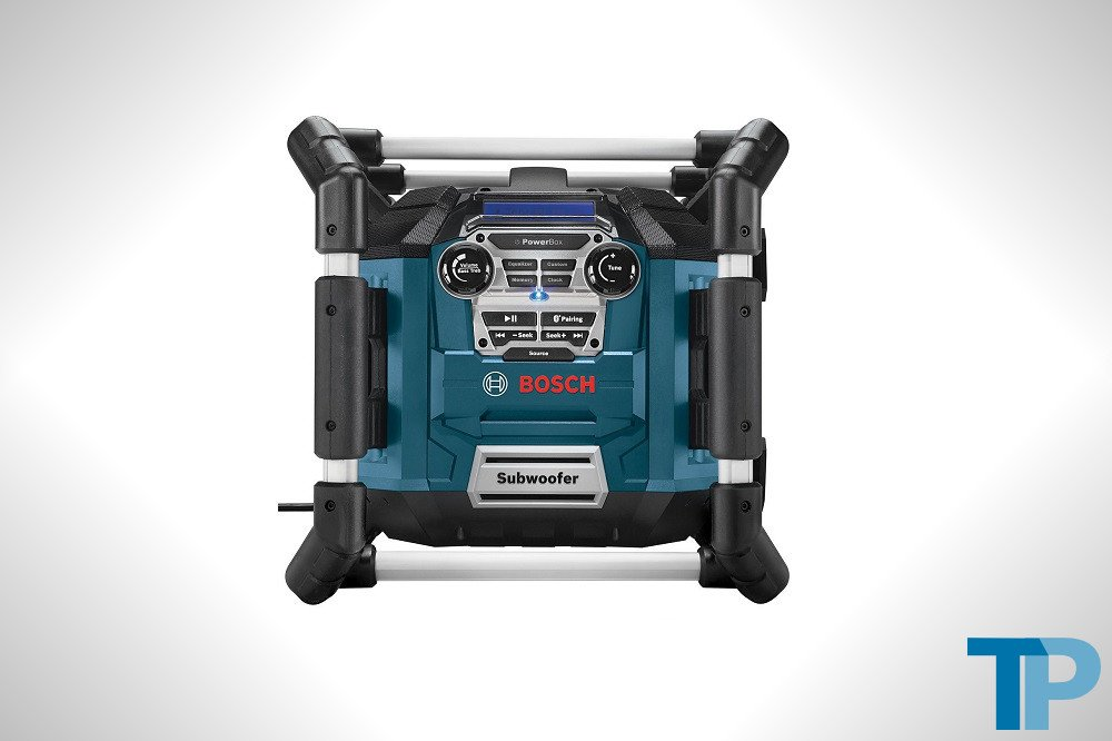 Bosch PB360C Power Box Jobsite AM/FM Radio/Charger/Digital Media Stereo Test