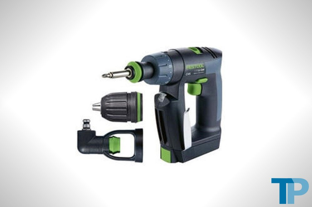 Festool 564274 CXS Compact Drill Driver Set With Right Angle Chuck Test