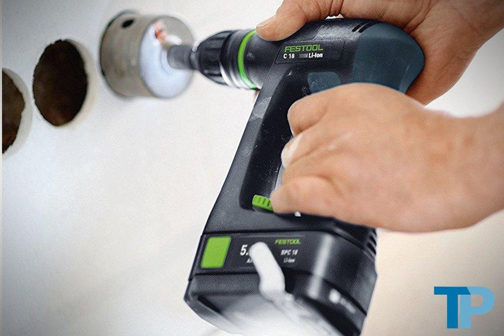 Festool C18 Li 5.2 Plus 564615 Cordless Drill