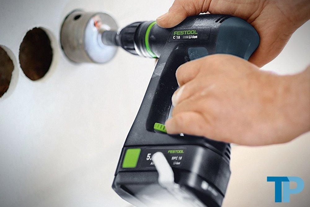 Festool C18 Li 5.2 Set 564616 Cordless Drill