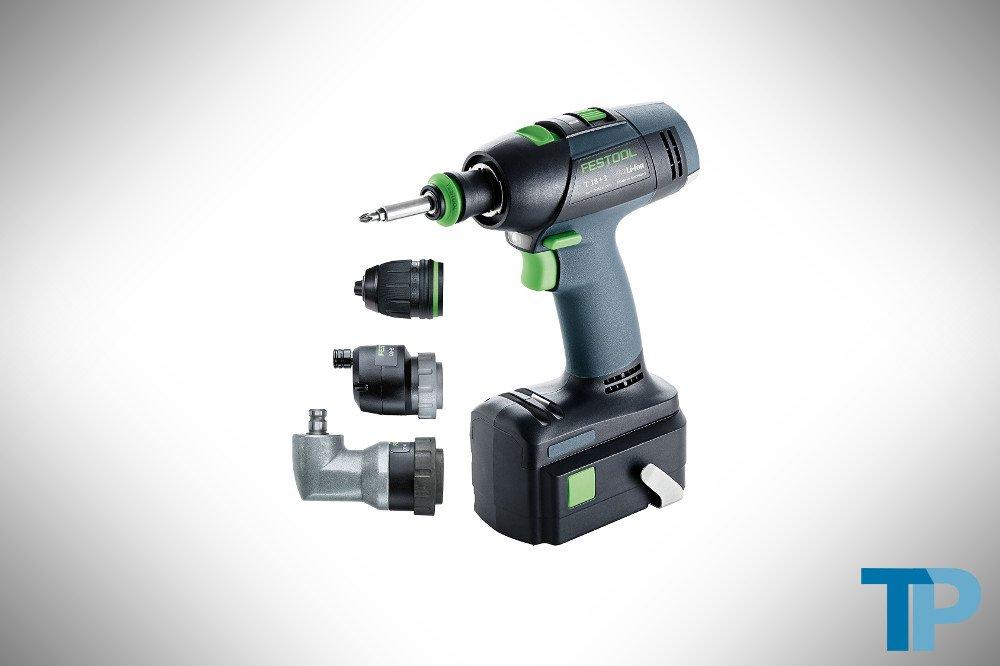 Festool T18+3 Li Set 564575 Cordless Drill Review