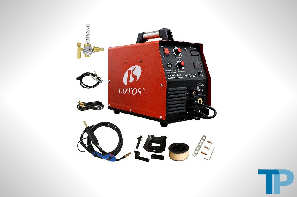 Lotos MIG140 140 Amp MIG Wire Welder Review
