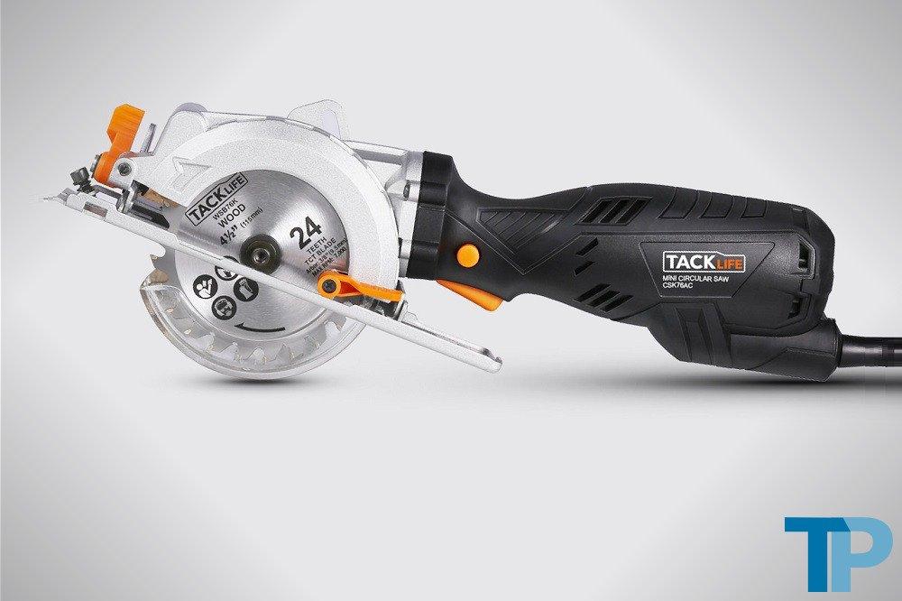 Tacklife CSK76AC Compact Circular Saw Review