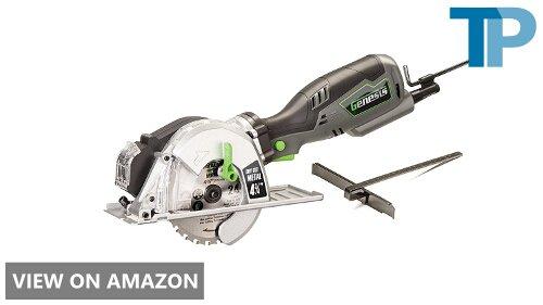 Genesis GMCS547C Control Grip Compact Circular Saw Review