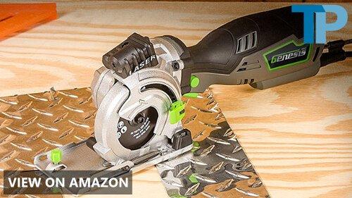 Genesis GPCS535CK Control Grip Plunge Compact Circular Saw Review