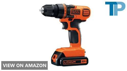 BLACK+DECKER LDX120C vs LD120VA drill driver