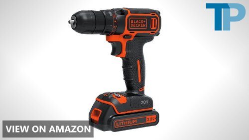 Black & Decker BDCDD120C 20V MAX Lithium Single Speed Drill/Driver Review
