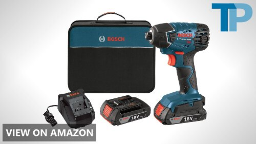 Bosch 25618-02 18-Volt Lithium-Ion 1/4-Hex Impact Driver Review