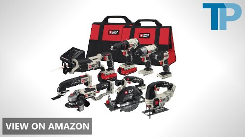 PORTER-CABLE PCCK619L8 20V MAX Lithium Ion 8-Tool Combo Kit Review