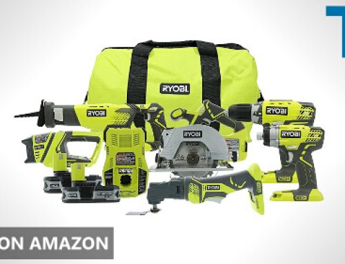 🥇 Ryobi P884 One+ Combination Lithium Ion Cordless Power Tool Set Review