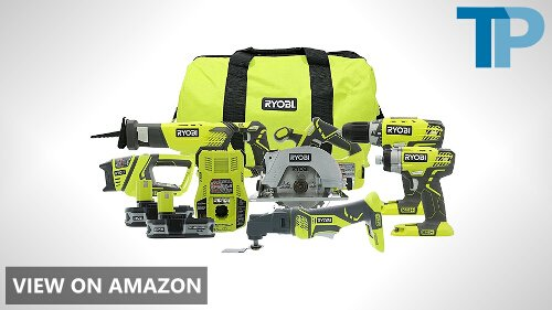Ryobi P884 One+ Combination Lithium Ion Cordless Power Tool Set Review