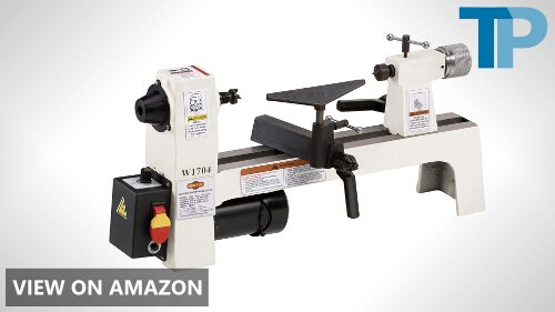 SHOP FOX W1704 1/3-Horsepower Benchtop Lathe Review