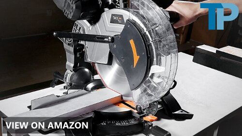 Tacklife PMS02X 15-Amp 12-inch Single Bevel Compound Miter Saw