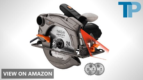 Tacklife Circular Saw with Laser Guide Review