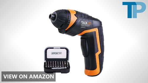 Tacklife SDP50DC Cordless Rechargeable Screwdriver Review