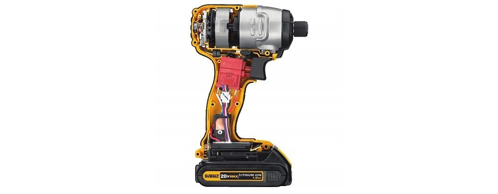 dewalt brushless impact driver with battery