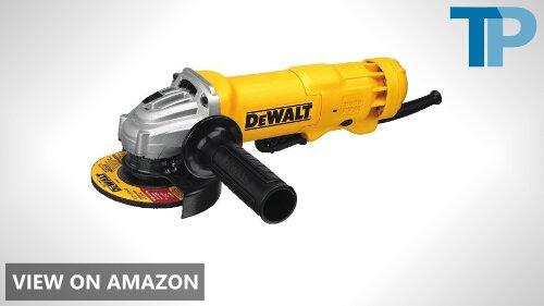 DEWALT DWE402 vs DCG413B Angle Grinder Comparison
