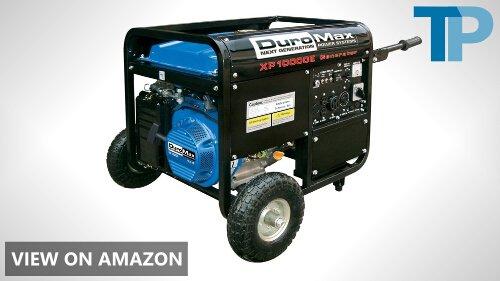 DuroMax vs Pulsar 10,000 Watt Portable Generator Comparison