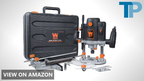 WEN 6033 15-Amp Variable Speed Plunge Woodworking Router Kit Review