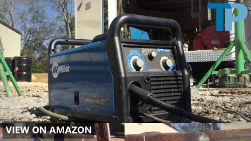 Miller Electric MIG Welder, 120/240VAC, 1 Phase