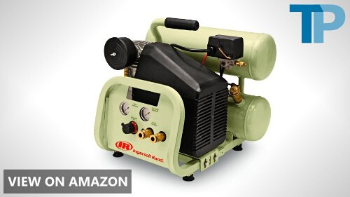Ingersoll-Rand Twin-Stack P1IU-A9 2 HP 4 Gallon Portable Air Compressor