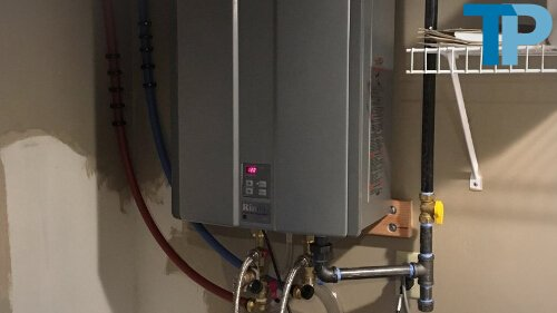 Gas or Electric Indoor Tankless Water Heater