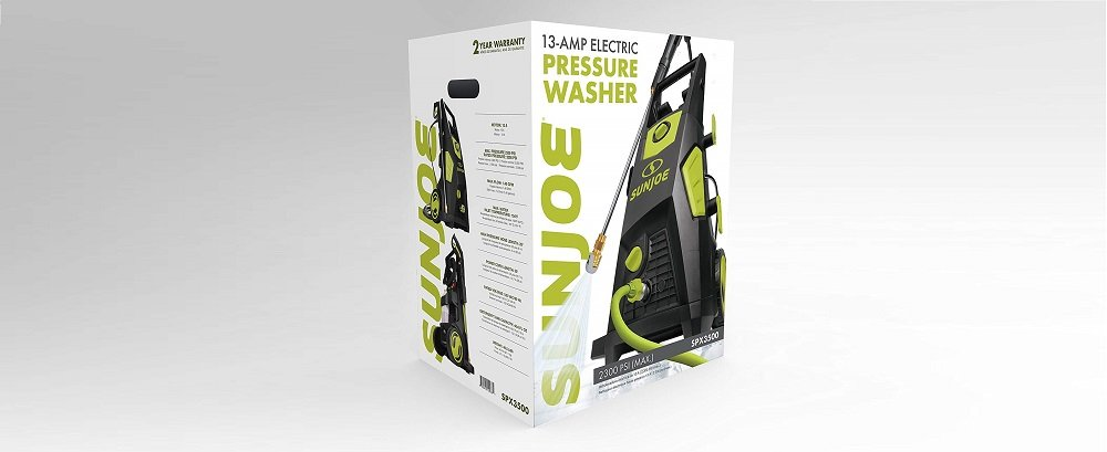 Sun Joe SPX3500 2300-PSI Electric Pressure Washer Review