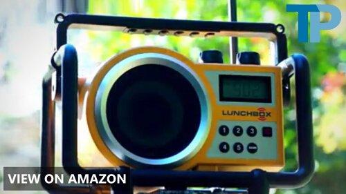 Sangean LB-100 vs DEWALT DCR018: Worksite Radio Comparison