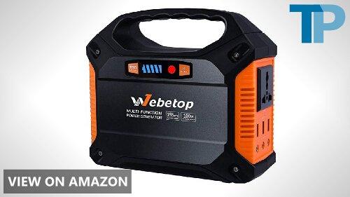 Webetop 155Wh 42000mAh Portable Generator Power Inverter