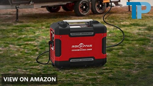 Rockpals 2000-Watt Portable Inverter Generator