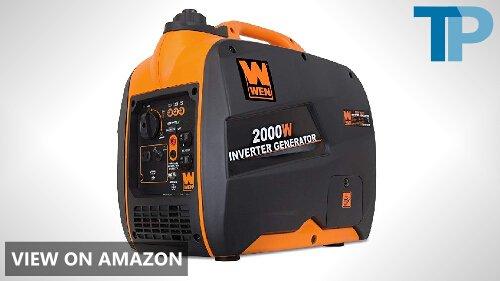 WEN 56200i Super Quiet 2000-Watt Portable Inverter Generator