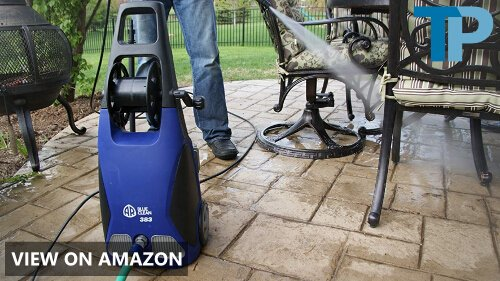 AR Blue Clean AR383 1,900 PSI Electric Pressure Washer Review