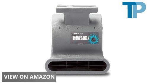 Soleaire Super Monsoon SA-SM-1HP-GY Grey Air Mover