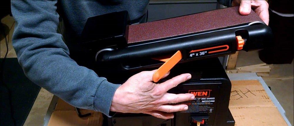 disk and belt sander combo