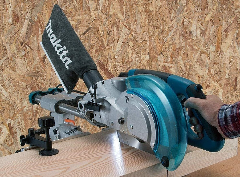 What is a double bevel compound miter saw?
