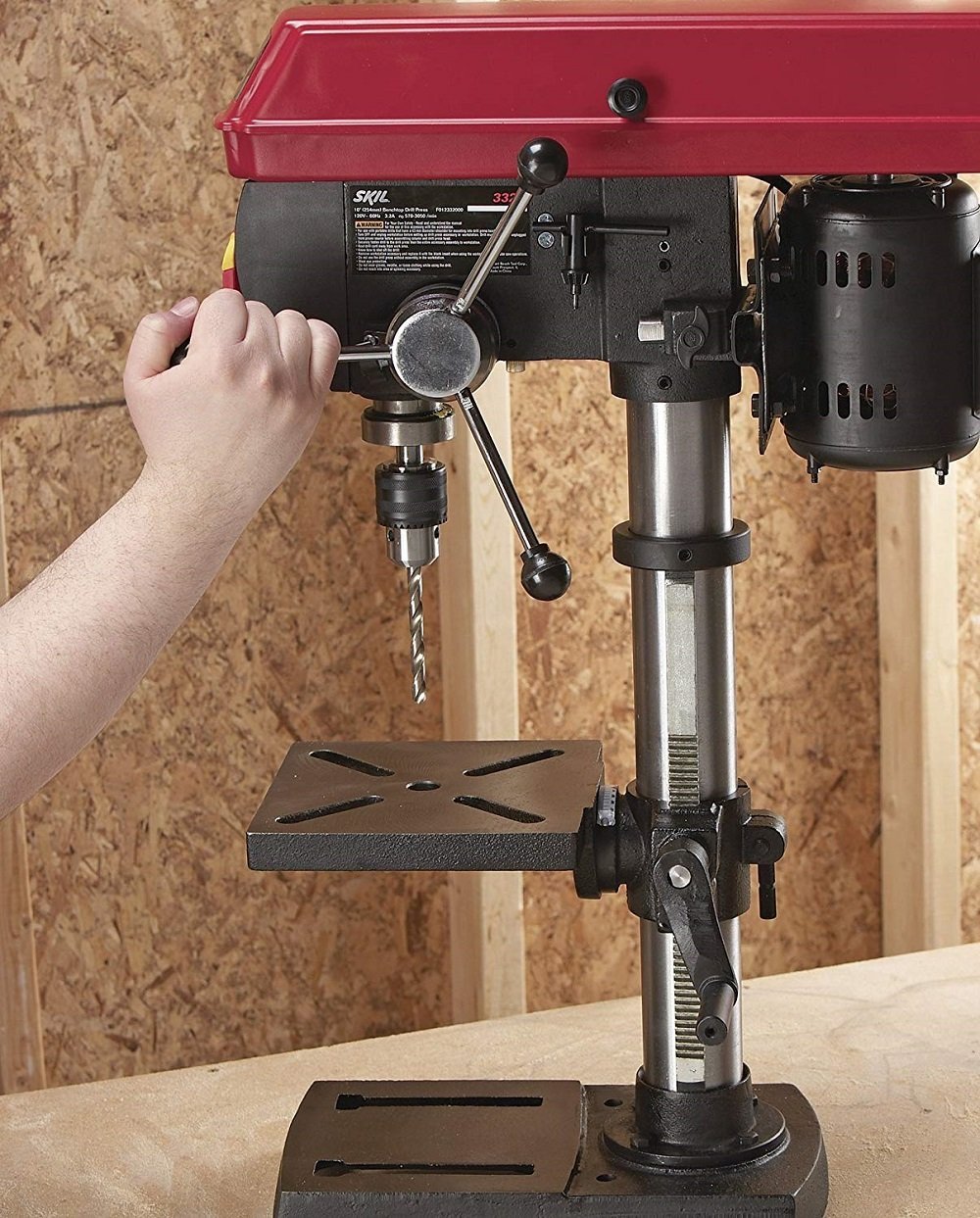 best bench top drill press for metal