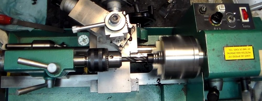 What does a lathe do?