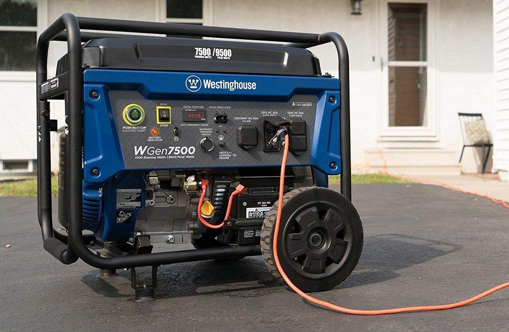 quiet portable generator