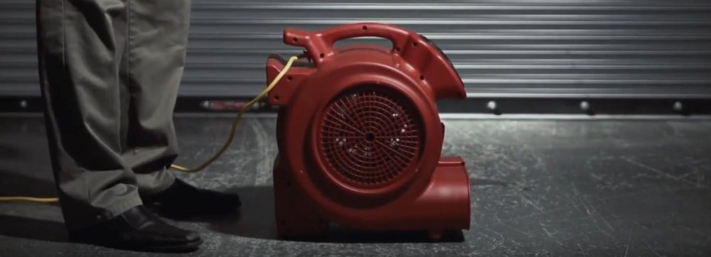 Types of air movers