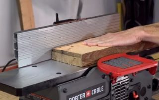 Using a Bench Top Jointer