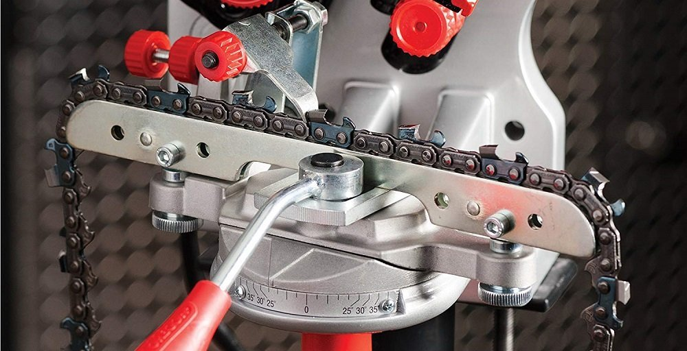 What is the best chainsaw sharpening tool
