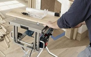 Dust Collection Table Saw