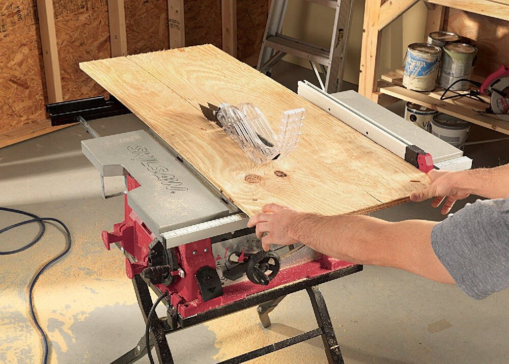 Table Saw Dust Collection Tips