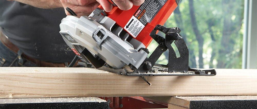 Straight Flush Circular Saw