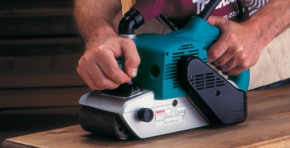 Belt Sander vs Orbital Sander