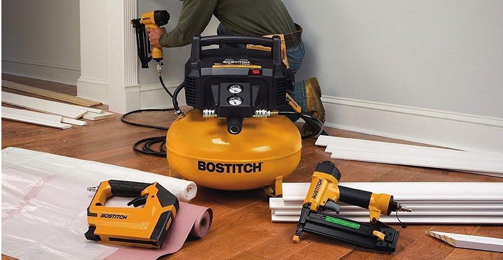 BOSTITCH BTFP3KIT 3-Tool Portable Air Compressor Combo Kit Review