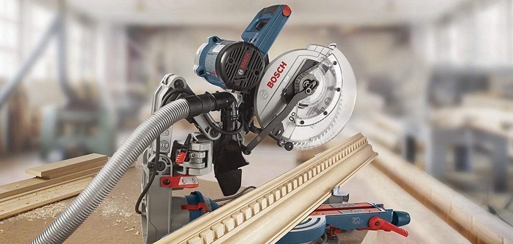 Bosch Dual Bevel Axial-Glide Compact Miter Saw, CM10GD