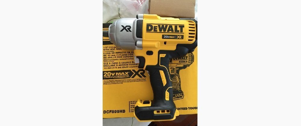 DEWALT DCF899HB 20v MAX XR Brushless Impact Wrench Review